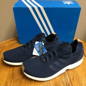 adidas Originals Men's Zx Flux Sneaker- Navy- NIB!